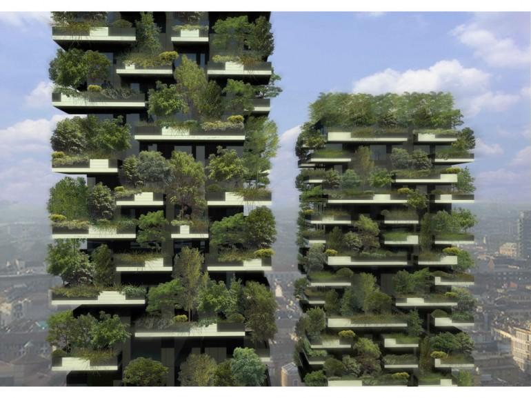 """Giới thiệu thiết kế của """"nhà rừng chọc trời"""" đầu tiên trên thế giới"""